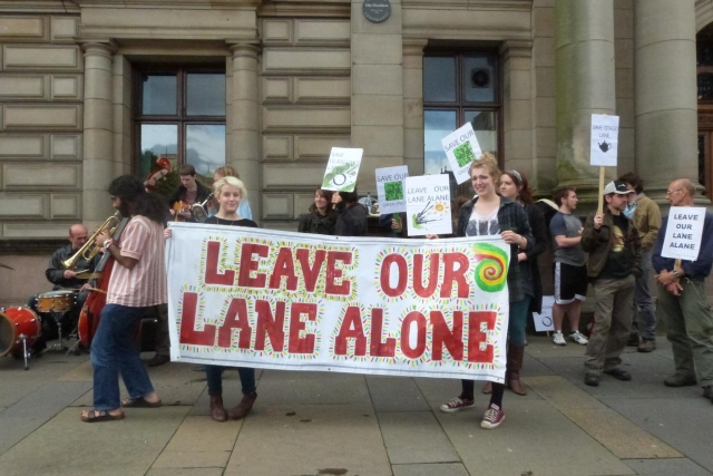 Save Otago Lane!